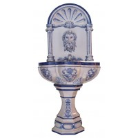 Fuente Neptuno de pared
