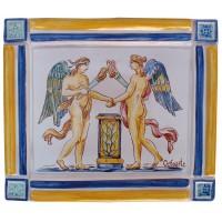 Placa rústica griega