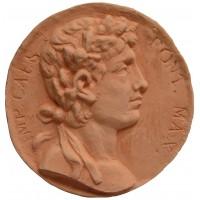 Medalla moneda romana