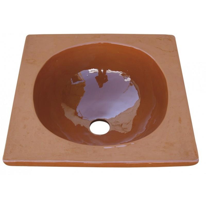 Lavabos artesanales great lavabo de palets with lavabos for Lavabo cuadrado